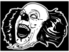 Pennywise Clown Evil Laugh Decal