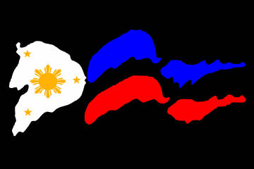 Customize this Philippines_Filipino Flag Decal