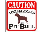 Pitbull Patrol S G 1 Decal