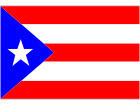 Puerto Rico Flag Square Clean C L 1 Decal