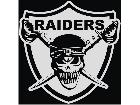 Raiders Skull New Style Decal