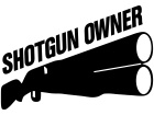 Shotgun Owner N R A Decal