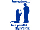 Somewhere Universe Rose Decal