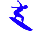 Surfer To The Tunnel Decal