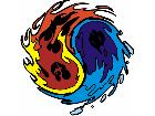 Yinyang Flame G D 1 Decal