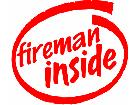 insidefireman Decal