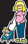 Moms Family Sticker