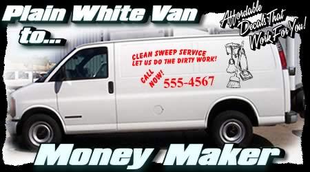 Advertising Decals Truck Van Semi Vinyl Lettering
