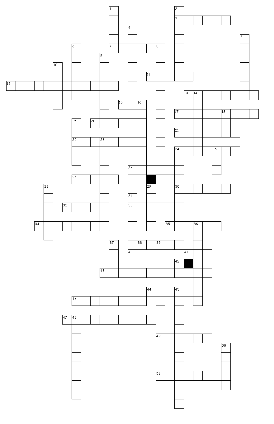 about decals crossword puzzle for fun