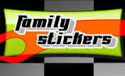 family car stickers custom made easily!