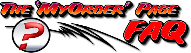 your my order page