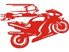 Calvin Moto Bike Decal