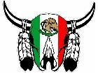 Cow Skull Mexico C L 1 Decal