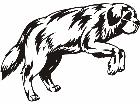 Dogs Misc Art 0 3 4 Decal