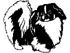 Dogs Pekingese 1 3 6 V A 1 Decal