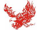 Eagle Body Flaming 2 2 E F 1 Decal
