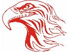 Eagle Flame Head 2 8 E F 1 Decal