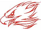 Eagle Flame Head 3 0 E F 1 Decal