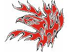 Eagle Flame Multi 1 2 E F 1 C L 1 Decal