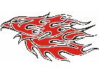 Eagle Flame Multi 2 1 E F 1 C L 1 Decal