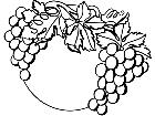 Food Grapes 1 6 3 V A 1 Decal