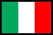 Italian_Italy Flag Decal Graphic