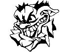 Joker Jester Mad Crazy Decal