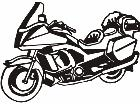 Motorcycle Deluxe M M 1 Decal