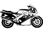Motorcycle 1 8 8 V A 1 Decal