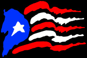 PuertoRico_Jagged Flag Decal Graphic