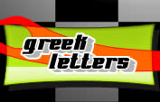 greek letter decals stickers